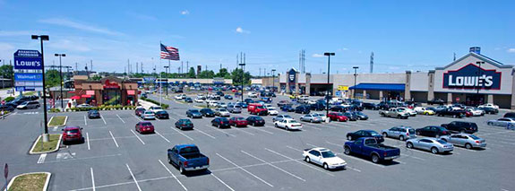 Impact Services Corporation helped to develop Aramingo Crossings, a 25-acre $45 million shopping center that created over 600 jobs. The center, which was built on the vacant site of a former pipe factory, is anchored by Walmart and Lowe's. Source: CASCADE: NO. 80, SPRING/SUMMER 2012