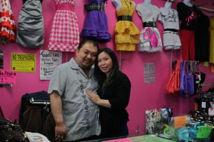 Haiyen and Neeson Vang at the store that NDC helped make a reality by providing financing and training on starting a small business.